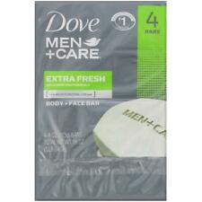 Dove Men Care Body & Face Bar Extra Fresh 120ml 4 Ct 1. .