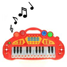 Pretend Play Electronic Keyboard Organ Musical Instrument Kids Toy - Red