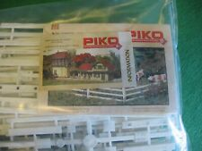 New ListingPiko White Wooden Fence 62291 G Scale Weather Resistant Outdoor Model Rr New Nib