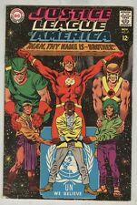 Justice League of America #57 November 1967 Vg United Nations Cover