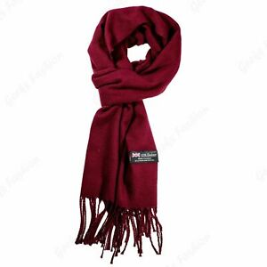 Wholesale Lot Women Men Winter 100% CASHMERE Scarf Solid  Plaid Wool SCOTLAND