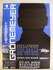 HERBERT GRÖNEMEYER - Open Air 2003 Stuttgart Gottlieb-Daimler-Stadion - 7.7.2003