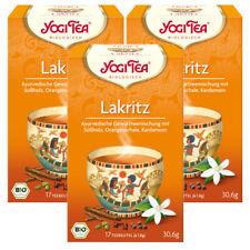 YogiTea Bio Lakritz, 3er Pack
