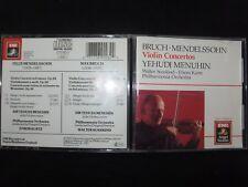 CD BRUCH / MENDELSSOHN / VIOLIN CONCERTOS / MENUHIN / KURTZ /