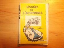 Le Journal de Spirou Mini-récit Histoire de l'Automobile par Jidehem