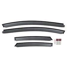 OEM NEW Front & Rear Window Deflector Rain Guard Smoke Ford Focus VGM5Z18246A