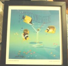 """""""5 O'Clock Somewhere by Kenneth F. Aunchman Framed Signed Numbered 77 out of 250"""