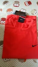 Nike Golf Junior Dri-Fit Ultra Mock Baselayer Red boys age 10 - 12 top t shirt