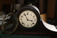 ANTIQUE MANTLE CLOCK TIME/STRIKE, KEY-WIND /PENDULUM  P/R