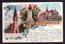 99784 AK Belin Gr. Lichterfelde Realschule 1901 Kirche Wilhelmplatz Bismarck Den