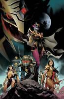 Power Rangers Drakkon New Dawn #1 1:10 Copy Mora Incentive Virgin Variant (08/19