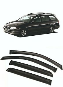 For TOYOTA CALDINA (T21) 1997-2002 Window Visors Sun Rain Guard Vent Deflectors