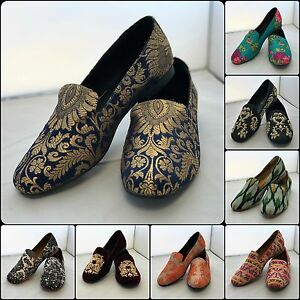 "NEW WOMENS LADIES SLIP ON BALLET / SLIPPER FLATS - ""RHEA"" By Saira (UK 3-8)"