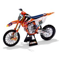 More details for 2019 red bull ktm racing motogp mx 450sx-f racing diecast model bike #222 cairol