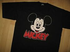 Mickey Mouse USA Tee - Walt Disney Character Fashions Vintage 80's T Shirt OS/XL