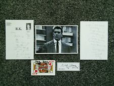 REG KRAY PHOTO CARDS LETTERS THE KRAYS