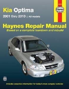 Haynes 54050 Repair Manual for 2001 Kia Optima  (2001-2010)