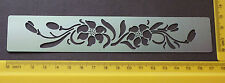 Border/Metal/Stencil/Oriental/Floral/Lily/Leaf/emboss/Stainless/Steel