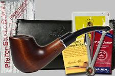 SET Pipe avec des accessoires: Blague, Filtres, Bourre-, Nettoie-pipes, Tabac,..