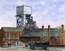 Fryston Colliery  1870 - 1985 - Ltd Ed Print - Pit Pics - Coal Mining