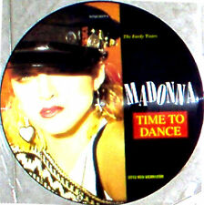 "12"" - Madonna & Otto Von Wernherr - Time To Dance (VINYL PICTURE DISC) NEW*NUEVO"
