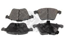 Bremsbelagsatz, Scheibenbremse MAPCO 6791 vorne für AUDI SKODA VW
