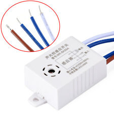 AC 220V Sound Voice Sensor Intelligent Auto On Off Light Switch Photo Controller