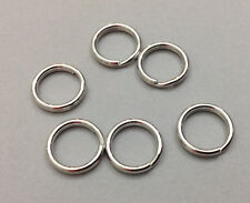 Split Round Camera Strap Rings Pkg/6 Steel 15mm