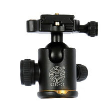 Kamera Stativ Kugelkopf mit Schnellwechselplatte fuer DSLR Kamera-Stativ M8W7