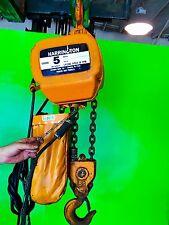5 Ton Harrington Electric Chain Hoist