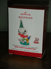 2013 Hallmark Ornaments ~NEW YEAR'S CELEBRATION~ 6TH IN A  SERIES OF 12.   (2016