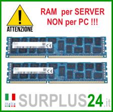 Kit RAM 16GB (2x 8GB) SK HYNIX 2Rx4 PC3L-10600R DDR3 1333MHZ ECC REG SERVER