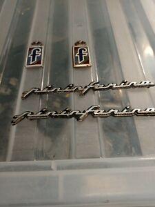 Alfa Romeo Pininfarina Badges x2