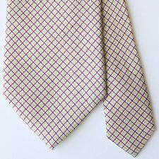 ETRO MILANO Multicolor Check Tie 100% Silk Made in Italy