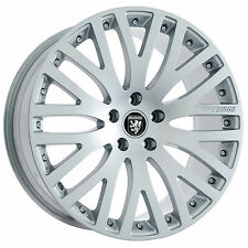"Set of 20"" Staggered BMW Hyper Silver Wheels and Tires Rims for 7 6 5 Series"