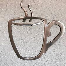 Coffee Cup Metal Art Decoration 10 Skilwerx Plasma Cut kitchen