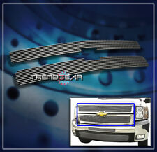 2007-2010 CHEVY SILVERADO 2500/3500 HD FRONT UPPER BILLET GRILLE GRILL 2008 2009