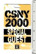 CSNY 2000 Special Guest Backstage Pass Laminate