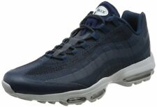 NIKE AIR MAX 95 ULTRA ESSENTIAL Running Trainers Gym Casual UK 7.5 (EUR 42) Navy