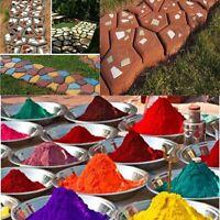 500g 1LB Concrete Multi Color Powder Pigment Cement Mortor Grout Yard Path Decor