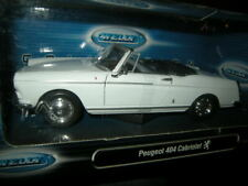 1:24 Welly Peugeot 404 Cabrio white/weiss in OVP
