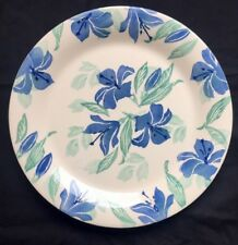 Large Hornsea Pottery 13 1/4 Inch Lily  Pattern Hand Painted Studio Platter Aaa
