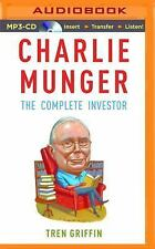 Charlie Munger : The Complete Investor by Tren Griffin (2016, MP3 CD,...