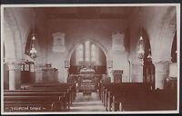 Sussex Postcard - Interior of Old Shoreham Church  MB379