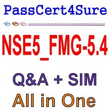 FortiManager 5.4 Specialist NSE5 FMG-5.4 Exam QA PDF+SIM