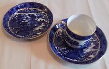 Vintage Coalport Pagoda Coffee Cup & 2 Saucers + 7 extras