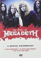 Megadeth -The Story Of [DVD] [2016][Region 2]