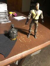 2005 Batman Begins Ninja Bruce Wayne Dc Comics Action Figure W/ Accessorie