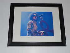 "Framed Prince 2014 3rd Eye Girl Tour Stage Shot Poster Print 14"" by 17"""