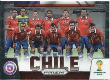 Panini Prizm Wold Cup 2014 Team Card #8 Chile